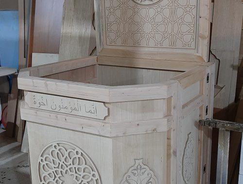 cami kürsü imalatı